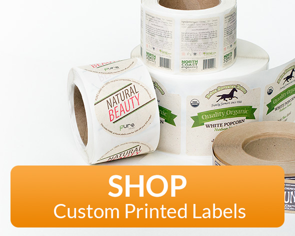 Custom Printed EcoFriendly Labels